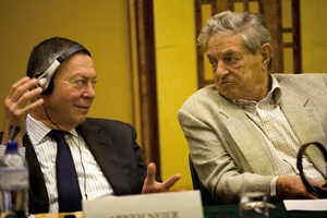 Aryeh Neier and George Soros