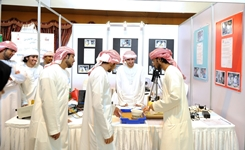 A science fair at Al Ittihad Secondary Model School