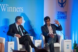 Danny Sriskandarajah at the 2013 Zermatt Summit]