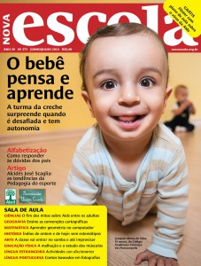 The cover of the Nova Escola's magazine
