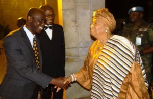 President Sirleaf Johnson of Liberia at TrustAfrica Event in 2011