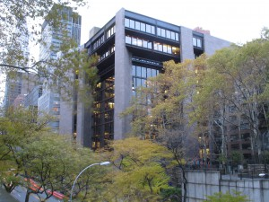 Ford Foundation building in New York City. Credit: Stakhanov.