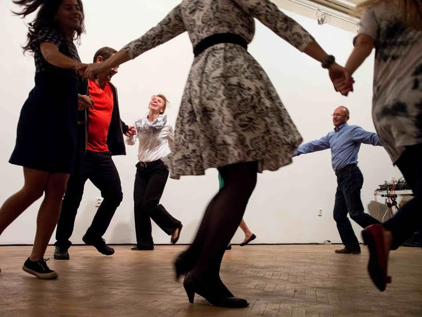 Dancers celebrate two decades of community foundations in Central and Eastern Europe.