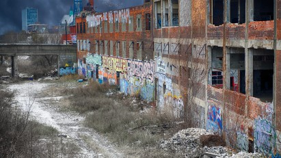 18 Detroit hero image landscape thorn apple valley slaughter house - Mike Boening Photography