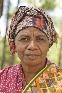 Mama Aleta Baun, leader of the protests in West Timor, Indonesia.