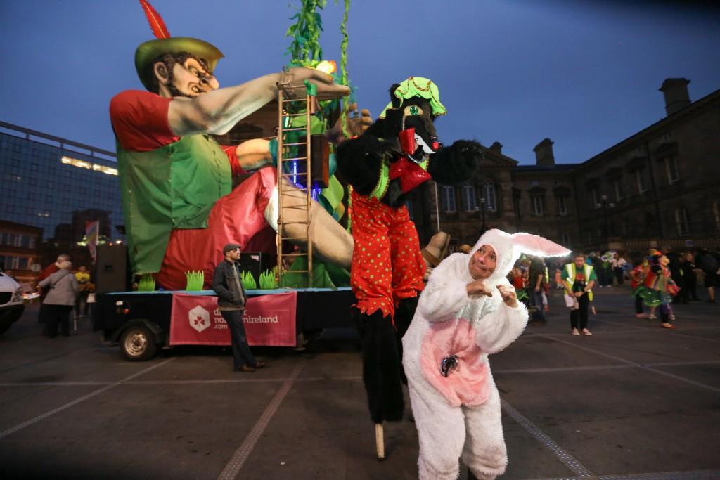 Belfast's Beat Carnival 2014.