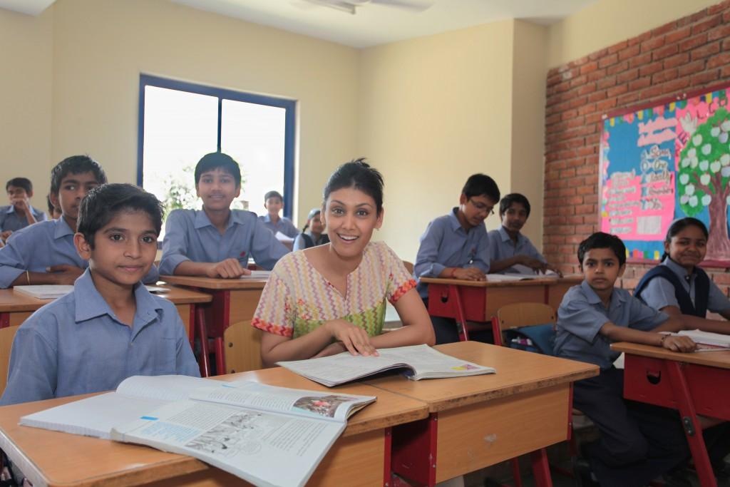 VidyaGyan students.