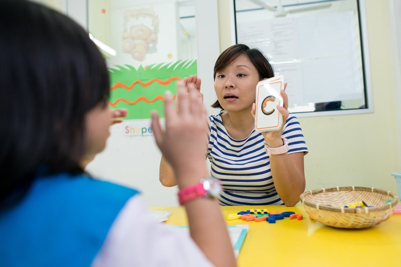 The Circle of Care is a Lien Foundation-funded programme to support at-risk children by providing services such as therapy and social work in their pre-school.