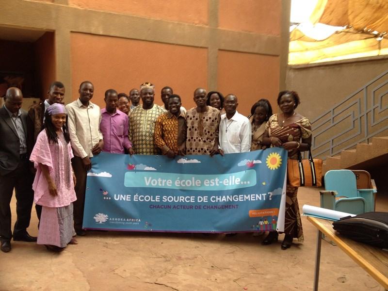 Changemaker school in Burkina Faso.