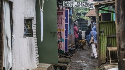 Eliminating poverty and creating safe cities are among the Sustainable Development Goals aimed at improving the lives of people like those living in the Kibera suburb of Nairobi.