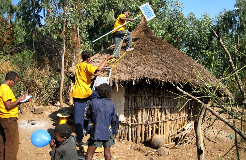 The Ethiopian government deems that foreign funding should only be used to finance development work, such as that done by the German Solar Energy Foundation.