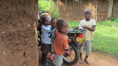 Motor bike bought with transfers saves 300 Kenyan shillings a day. CREDIT Give Direct