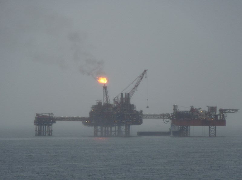 Environment and sustainability have gained importance for young donors. Oil rig CREDIT: Psycho DELIA.