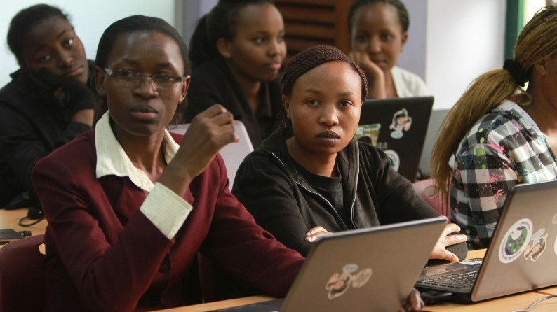 The iHub and ICT innovation centre in Nairobi, Kenya. Young people are seen as critical innovators for inclusive and sustainable development. Credit: UNDP