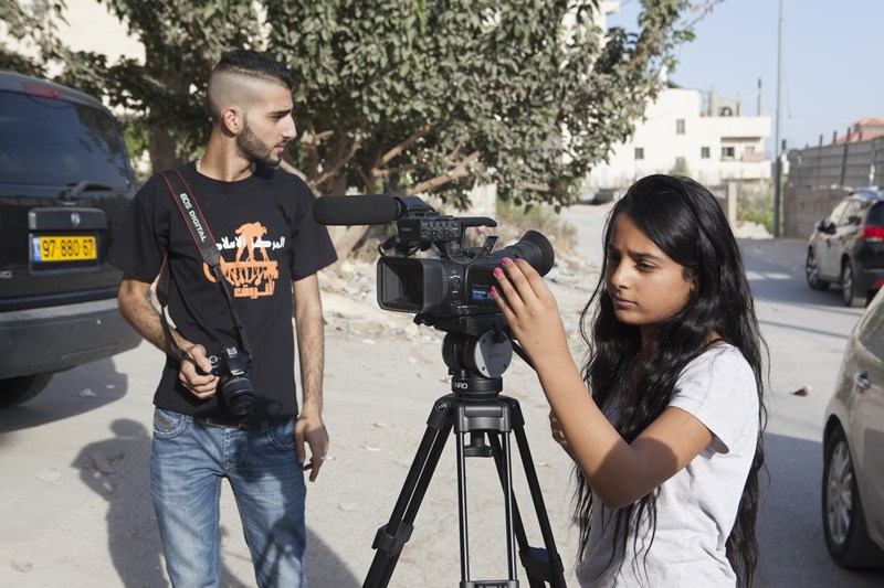 Shoruq helps young people and children develop confidence by building their media and advocacy skills.