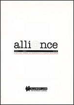 First issue of Alliance