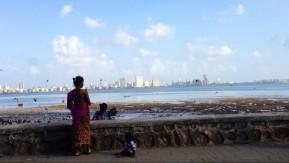 View of south Mumbai.