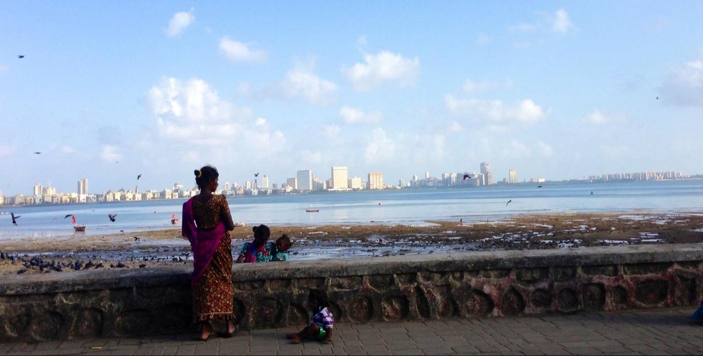 View of south Mumbai.
