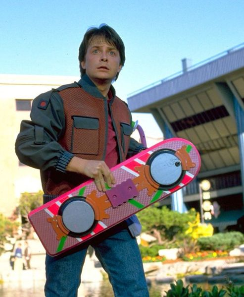 Marty McFly of Back to the Future