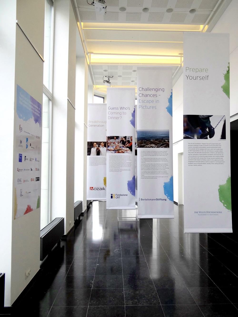 'Championing Philanthropy' exhibition