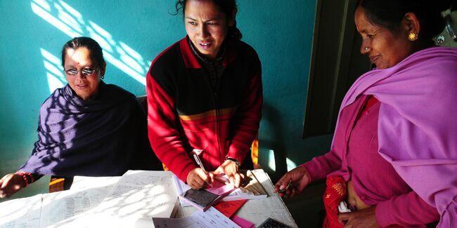 Women's Awareness Center (WACN) staff in Nepal, partners of IDEX