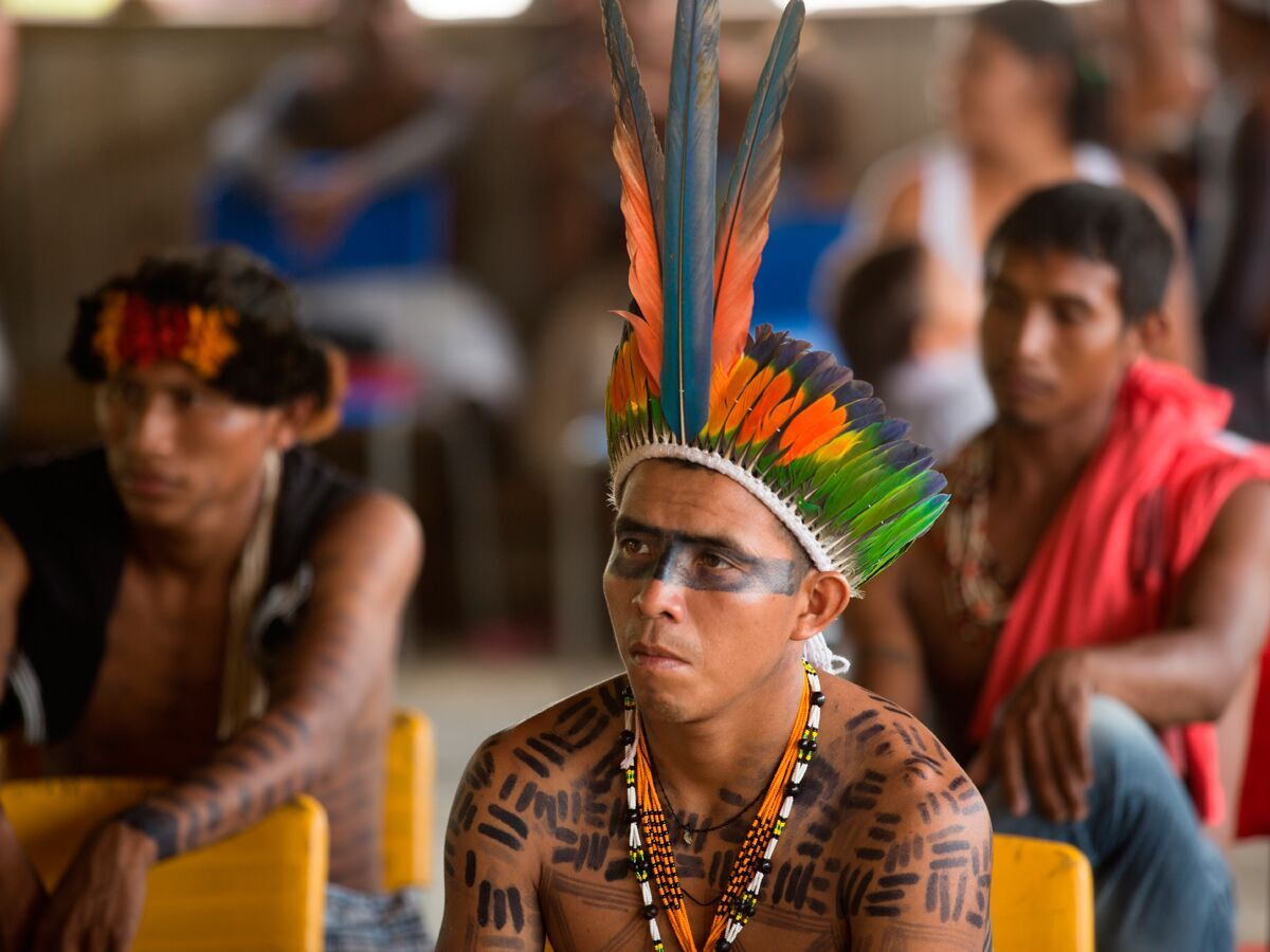 Indigenous communities supported by Fundo Casa for the Environment.