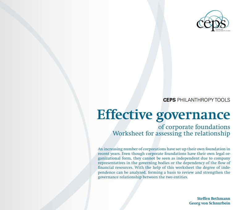 The CEPS worksheet.
