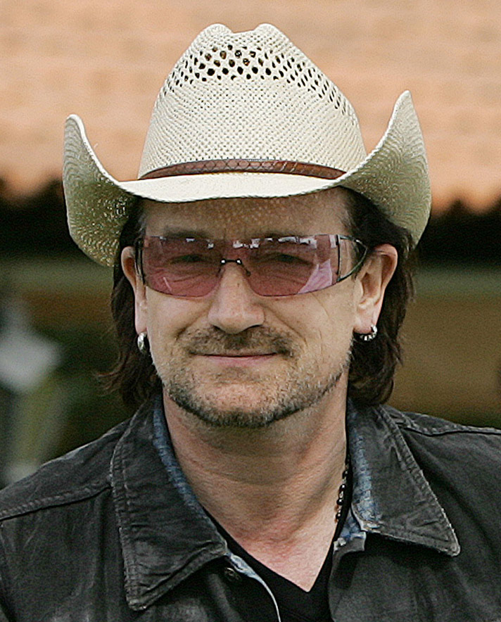 U2 frontman Bono.
