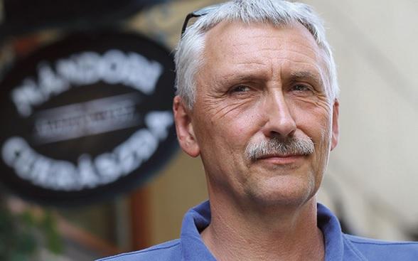 László Nándori, owner of Nándori patisserie