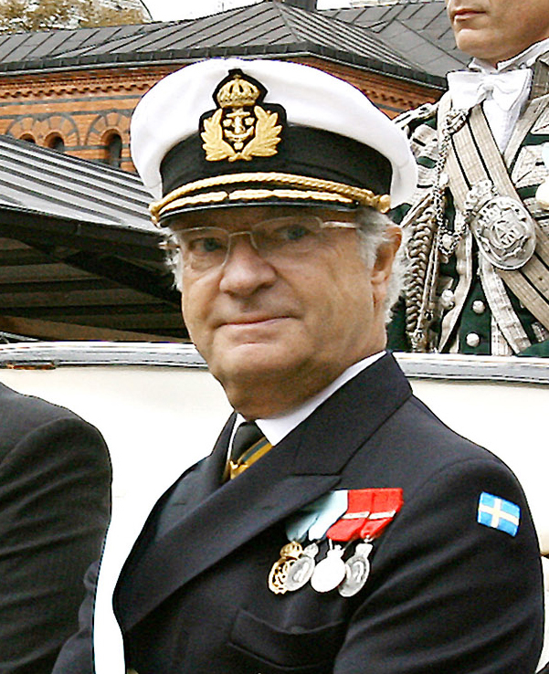 King Carl XVI Gustaf of Sweden has been honorary chairman of the World Scout Foundation since 1977.