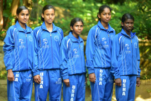 RYTHM Foundation recently partnered with Usha School of Athletics, who nurture and train promising female athletes in India.