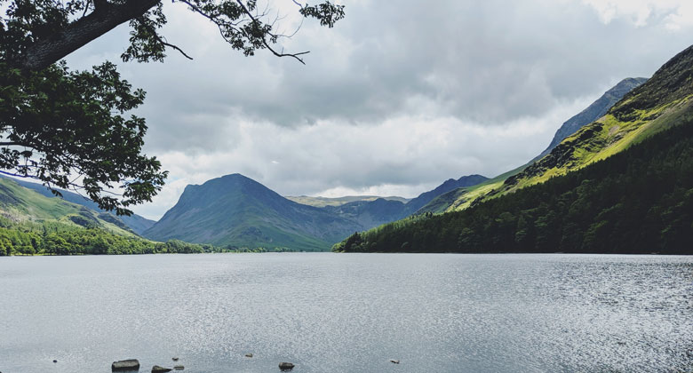 Cumbria, England. The site of a proposed controversial coal mine.